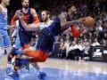 НБА: Оклахома разгромила Сакраменто, Миннесота в овертайме уступила Детройту