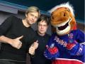 Милевский с Тимощуком сходили в Питере на хоккей