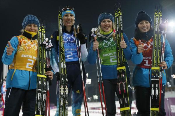Украинские победительницы Сочи