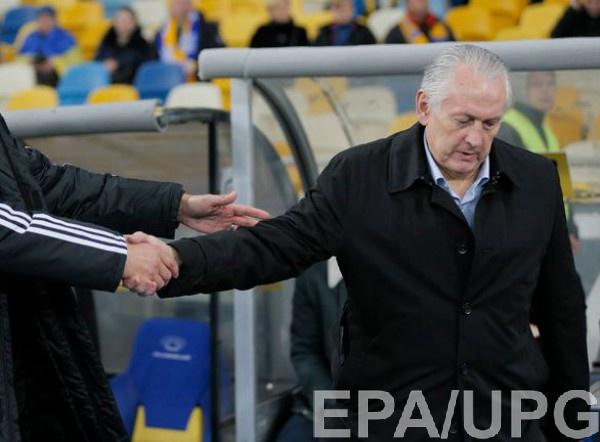 Экс-главный тренер сборной Украины Михаил Фоменко