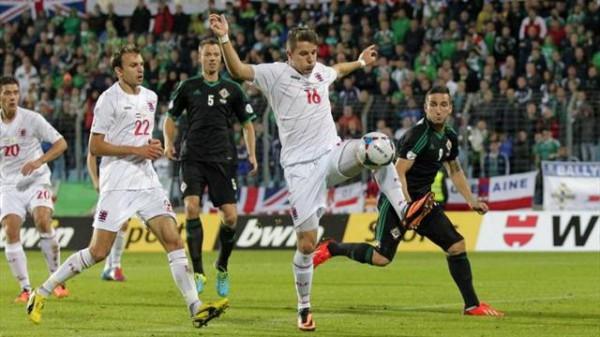 Люксембург творит чудо в матче с Северной Ирландией