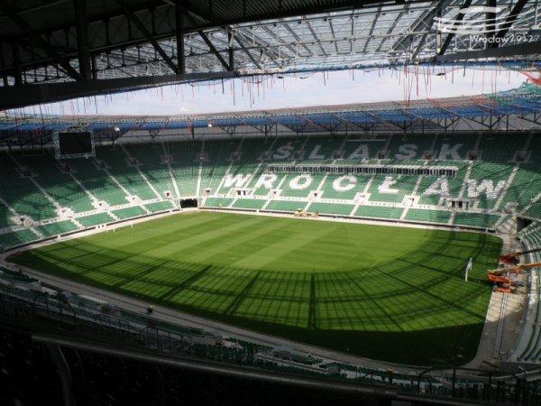 Стадион во Вроцлаве готов.
