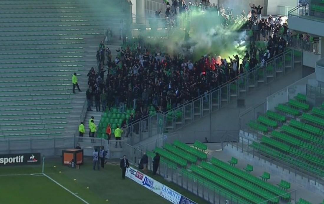 Фанаты проникли на стадион