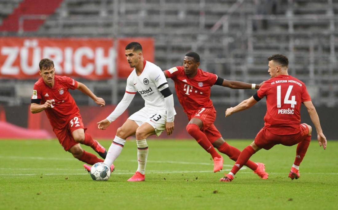 Бавария - Айнтрахт: обзор матча