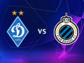 Динамо - Брюгге: видео онлайн трансляция матча Лиги чемпионов