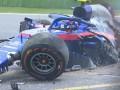Албон разбил машину на третьей практике Гран-при Китая