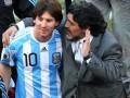 Месси: Если кто-то и вдохновил меня стать футболистом, то только Диего Марадона