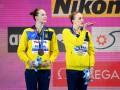 Украинские синхронистки выиграли еще одну бронзу чемпионата мира