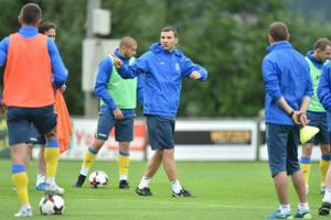 Сборная Украины начнет подготовку к матчам против Турции и Исландии в Харькове