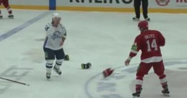 Живой звук и Саша Поветкин. Анатомия хоккейной драки