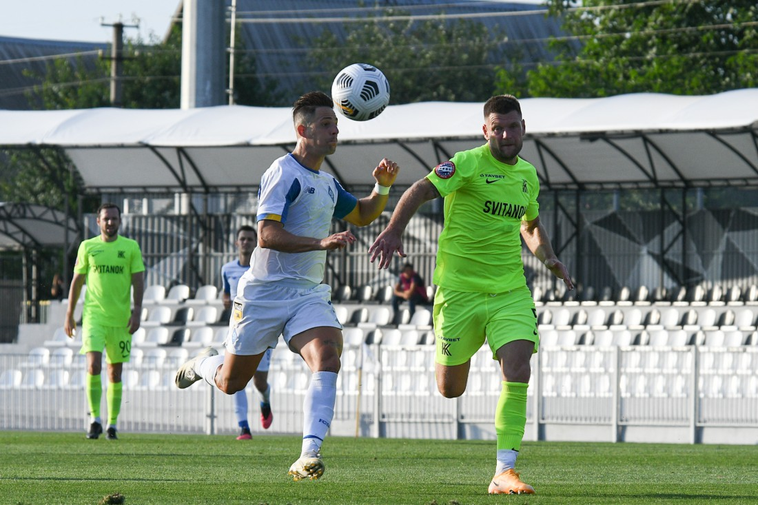 Колос - Динамо: видео гола и обзор матча