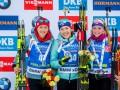 Биатлон: Украина возглавила женский Кубок наций