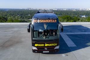 Шахтер обновил дизайн клубного автобуса