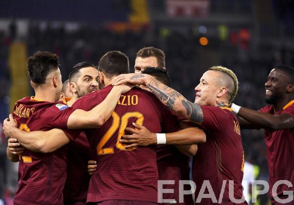 «Рома» разгромила «Фиорентину» в основном матче чемпионата Италии