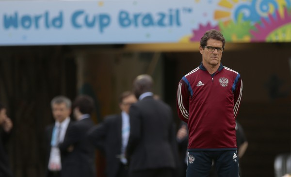 Фабио Капелло готов и дальше работать со сборной России