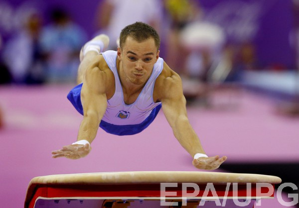 Верняев занял пятое место в финале опорного прыжка