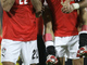Египтяне празднуют гол в ворота Камеруна