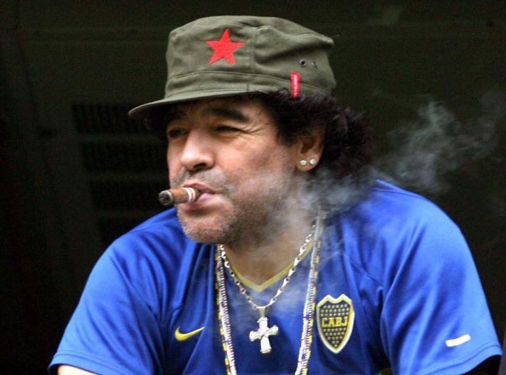 Марадона одним из первых совместил спорт и наркотики