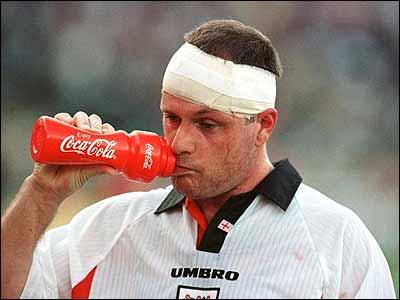 Гаскойн является одним из самых известных хулиганов британского футбола