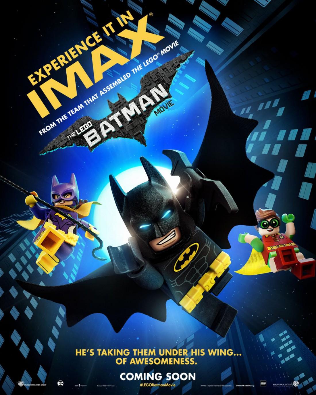 Лего-фильм по Бэтмену выйдет в феврале