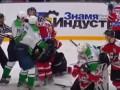 Видео драки в матче Донбасс - Рапид бьет рекорды