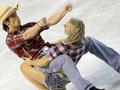 Фотогалерея: Предолимпийские танцы на льду
