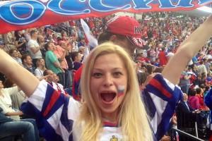 Нежный батальон: Как девушки смотрели чемпионат мира по хоккею