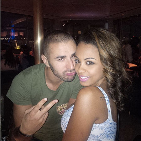 Карим бензема и его девушка сара