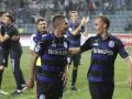 Черноморец безумствовал в раздевалке после победы над Динамо