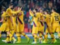 Игроки Барселоны устроили бардак в раздевалке после матча со Славией