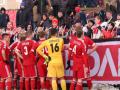 Ультрас  Металлурга блокировали команде выезд со стадиона в Луцке