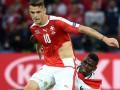 Реакция соцсетей на порванные футболки сборной Швейцарии на Евро-2016