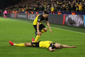 Холанд забил невероятный гол в матче с ПСЖ