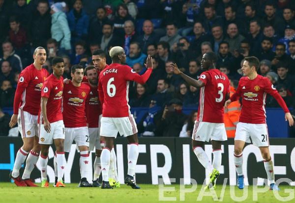 Манчестер Юнайтед - один из фаворитов Лиги Европы