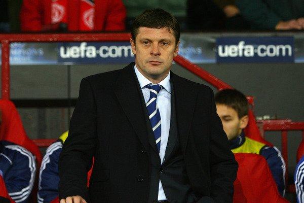 Лужный дважды был временным тренером Динамо