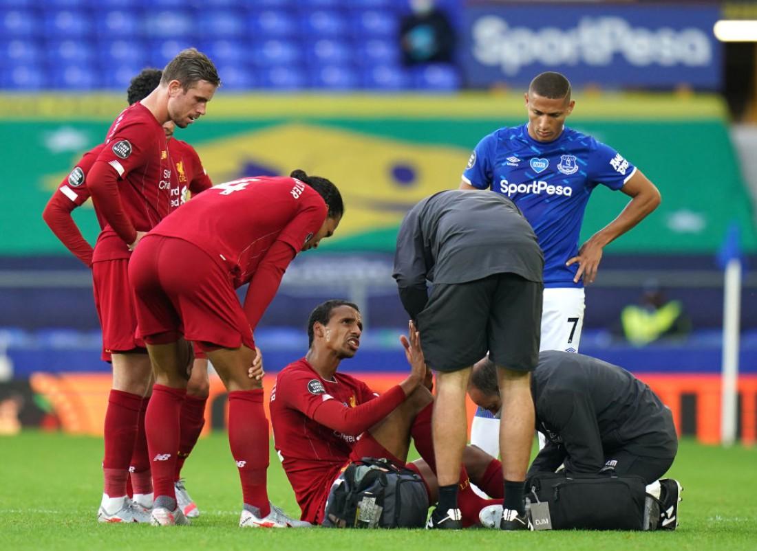 Жоэль Матип получил травму в матче против Эвертона