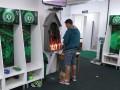 Игроки Шапекоэнсе в раздевалке зажгли свечи в память о погибших одноклубниках