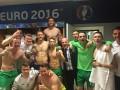 Сборная Ирландии отметила выход в плей-офф пивом