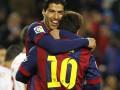 Дубль Суареса помог Барселоне одержать крупную победу над Альмерией