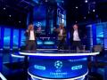 Легендарные футболисты устроили пляски в студии после шестого гола Барселоны