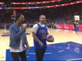 Болельщик Филадельфии выиграл сэндвичи для всей арены