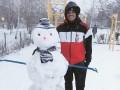 Снеговик и снежки: Как футболисты Шахтера радовались снегу