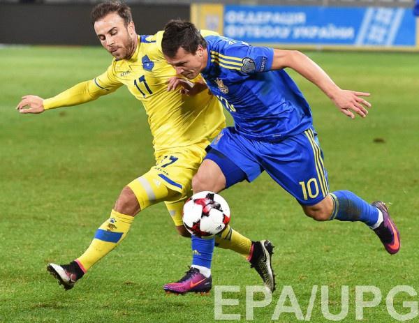 Украина одержала первую победу под руководством Шевченко