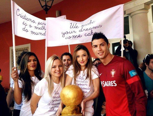 Роналду, девушки и Золотой мяч