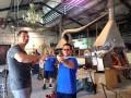 Владимир Кличко научился выдувать стекло в Венеции (ФОТО)