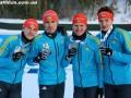 Серебряная точка: Украина завершила чемпионат Европы медалью в мужской эстафете