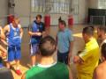 Сборная Украины отправилась на последний сбор перед стартом отбора на Евробаскет
