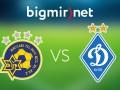 Маккаби - Динамо Киев 0:2 трансляция матча Лиги чемпионов