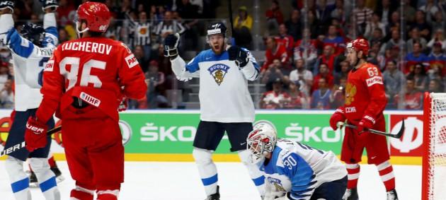 ЧМ по хоккею: Россия не вышла в финал, проиграв Финляндии