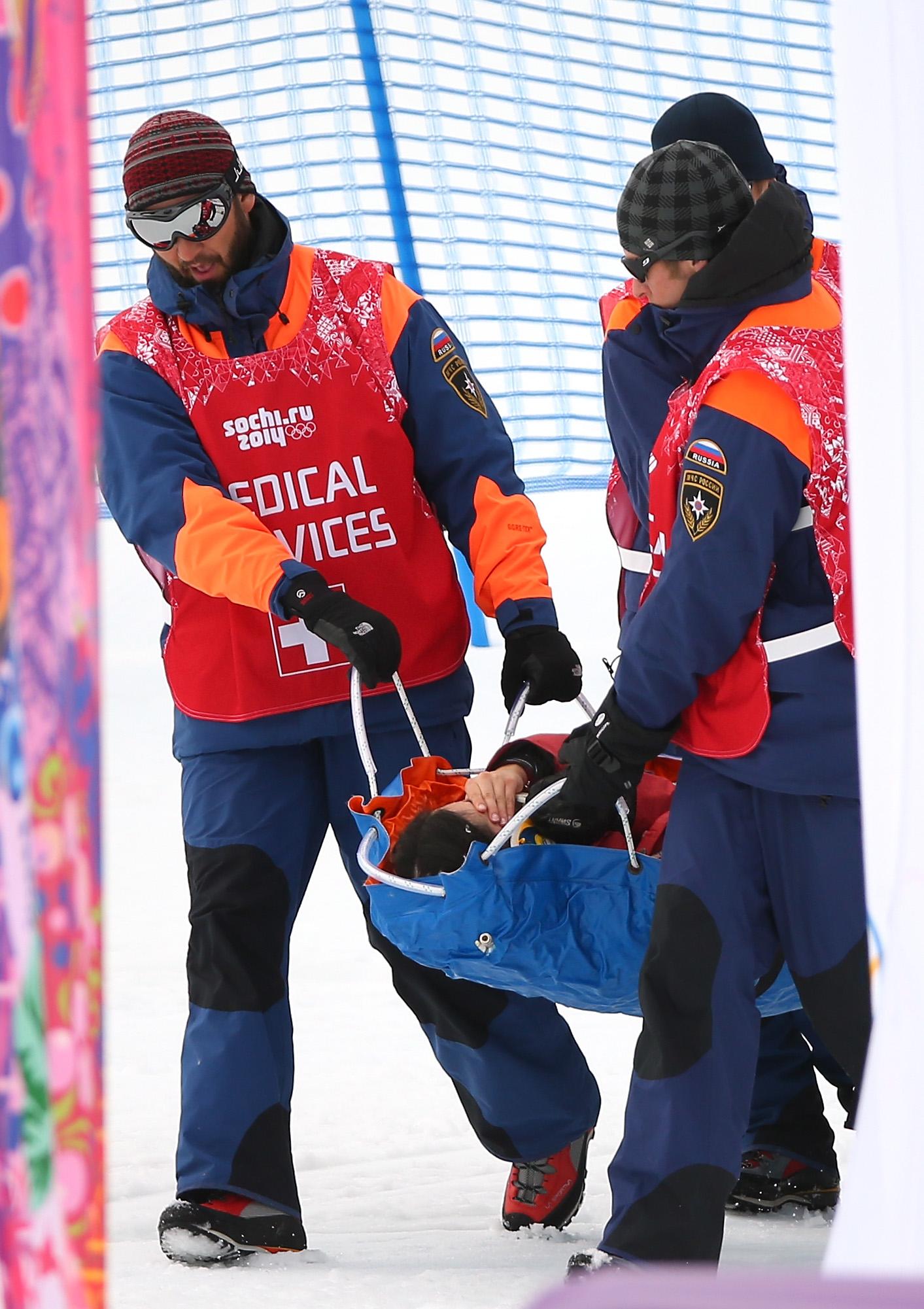 Юки Цубота получила травму во время соревнований
